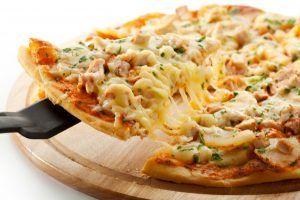 Пица на курице или на броколли
