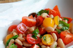 Tomato and Bean Salad