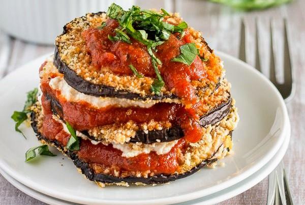 Baked Vegan Eggplant