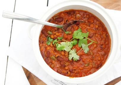 Three Bean Curry