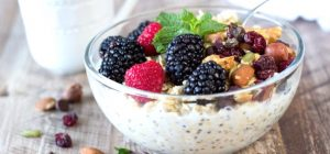 Chia Bowl with Berries