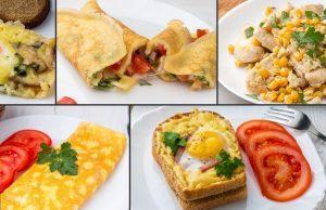 31 вариант завтраков